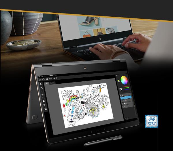 HP Spectre x360 Convertible Laptop - 15t touch 1WB97AV_1