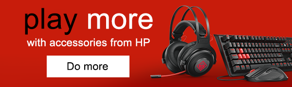 Play more with accessories from HP